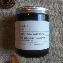 Load image into Gallery viewer, Plant Remedy - Botanical Foot Salt Soaks