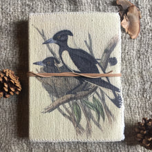Load image into Gallery viewer, Hand Made Paperless Notebook - Magpie