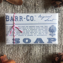 Load image into Gallery viewer, Barr & Co Orginal Soap