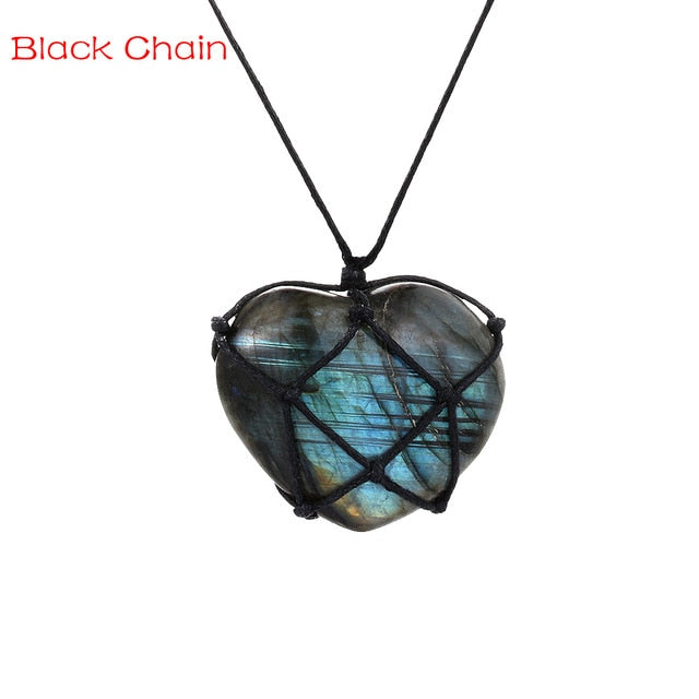 Labradorite Natural Gemstone Pendant