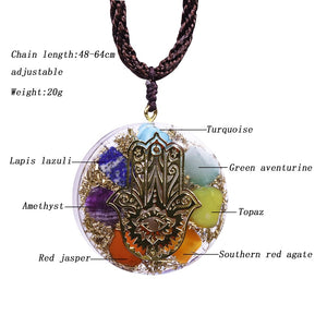Handcrafted Orgonite Necklace