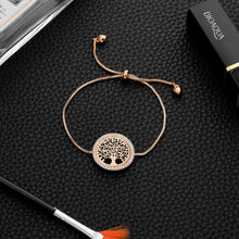 Load image into Gallery viewer, Tree of Life Adjustable Bracelet