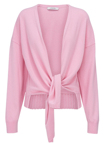 Pink Knit with Knot