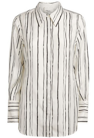 Painted Striped Blouse