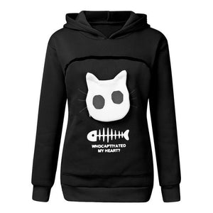 SWEATSHIRT ANIMAL POUCH HOOD TOPS