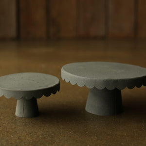 Scalloped Cake Stands