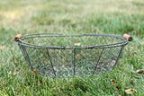 Gray Wire Basket