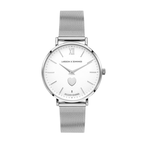 THE JILLY 36MM SILVER