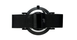 20mm Black Milanese Strap