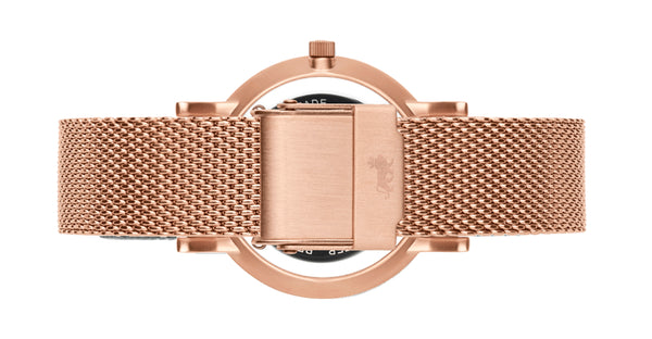 18mm Rose Gold Milanese Strap