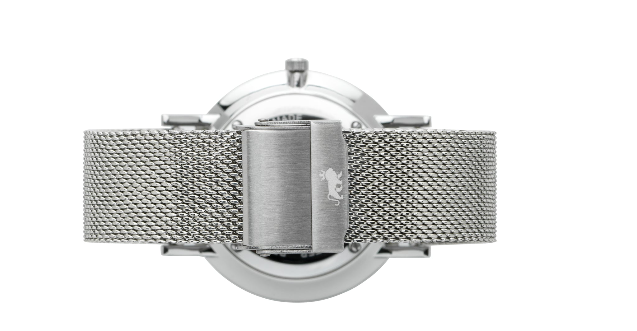 18mm Silver Milanese Strap