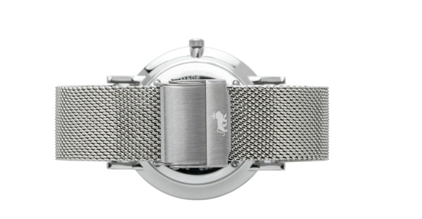 20mm Silver Milanese Strap