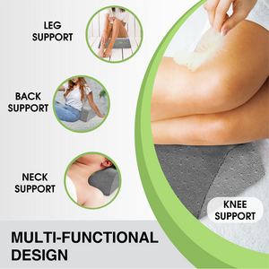 Lumbar Traction Fulcrum | Firm | Gentle Posture Corrector | Lower Back Stretcher Device