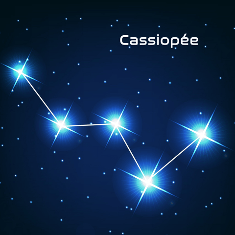 constellation de cassiopée