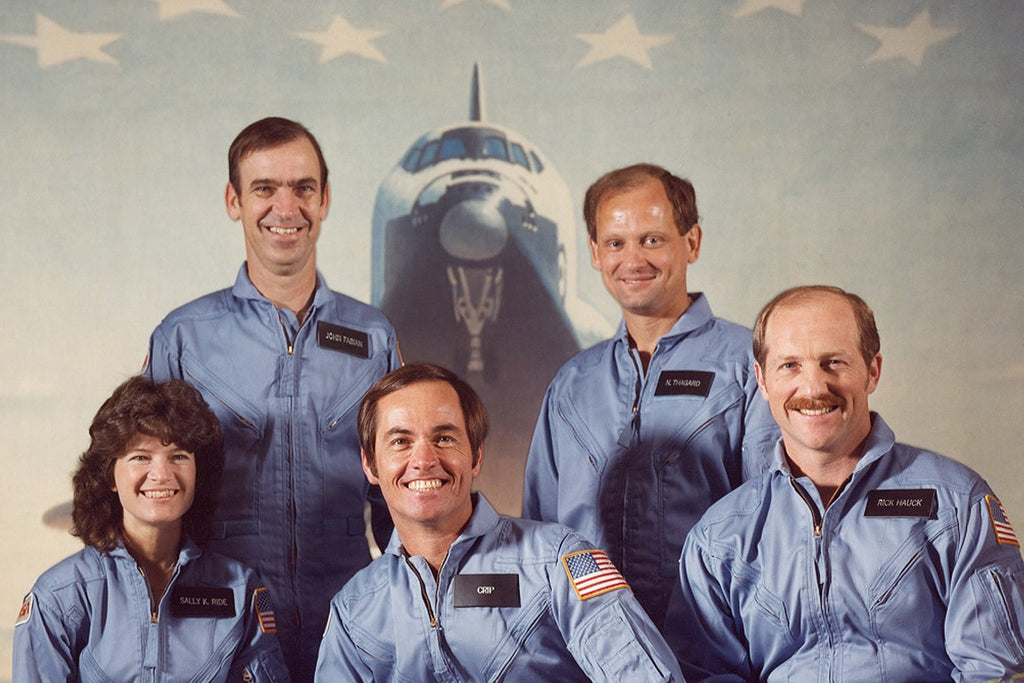 équipage mission sts-7 nasa