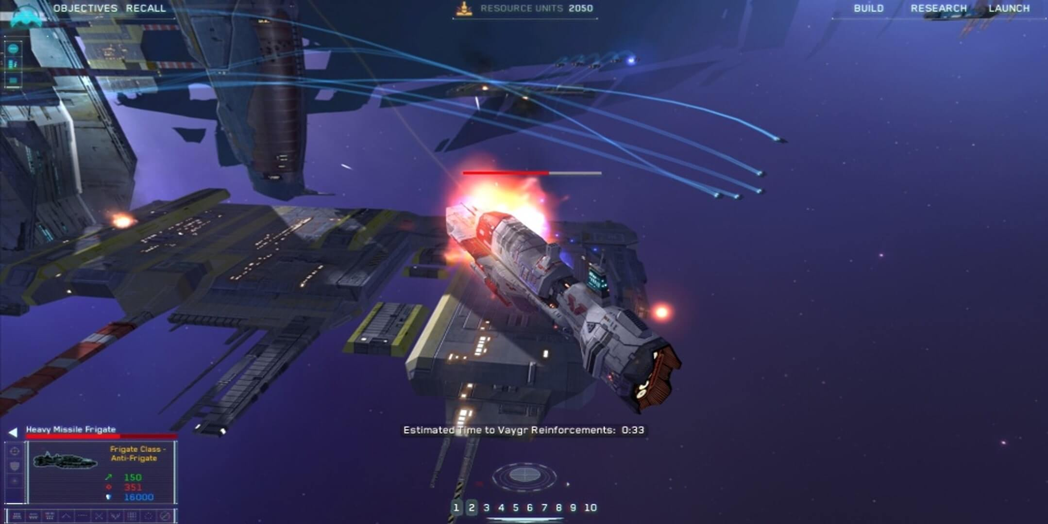 jeux espace homeworld remastered collection