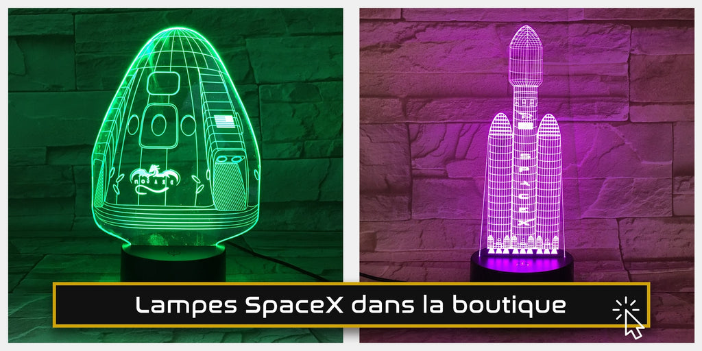 lampe spacex