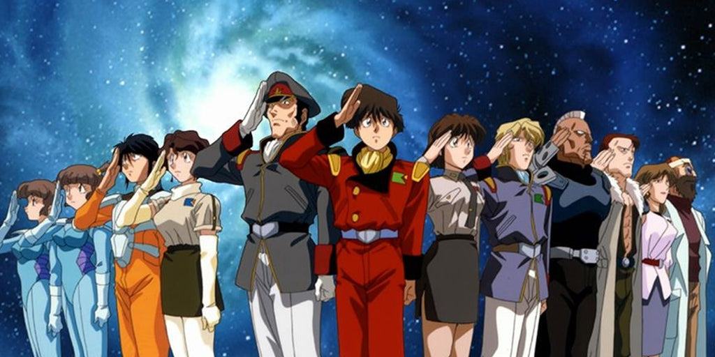 manga anime espace the irresponsible captain taylor