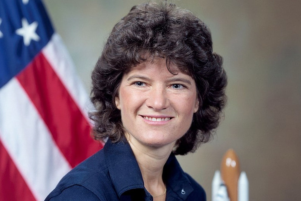 Sally Ride astronaute portrait
