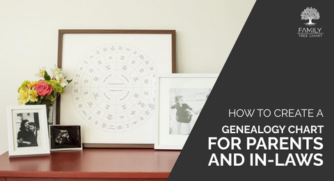 how to create a family tree for parents and inlaws