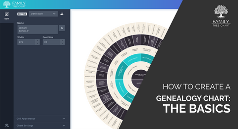 how to create an ancestry chart
