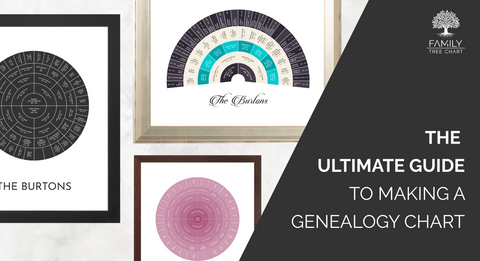 ultimate guide to creating a genealogy chart