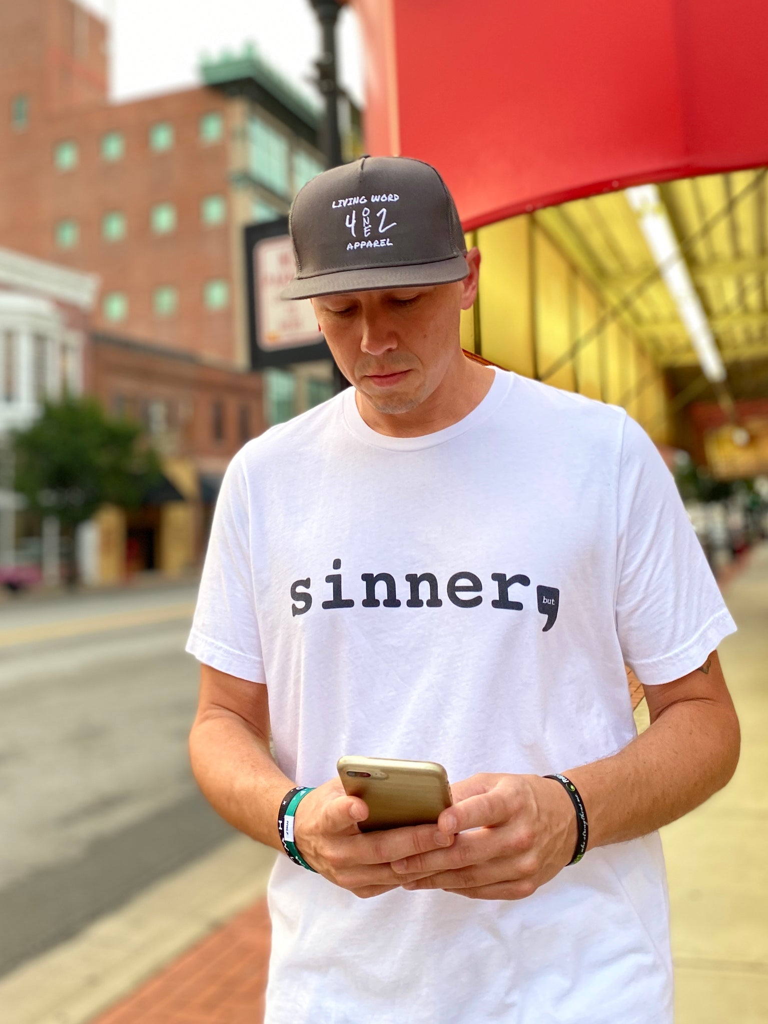 Sinner but Saved T-shirt