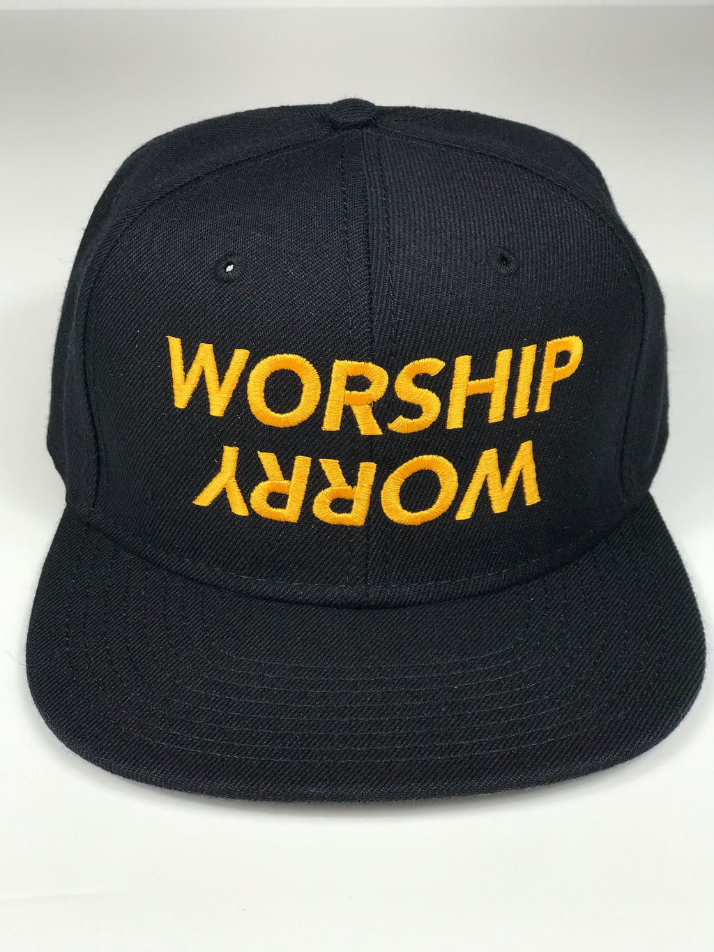 Worship Over Worry Snapback Hat