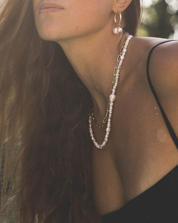 Robinson Mixed Pearl Necklace & Mask Chain - Necklaces - ShopStyleguise