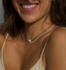 KB Delicate Pearl Necklace