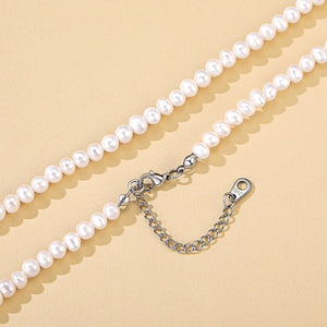 Nature Baroque Freshwater Pearl Necklace, Adjustable Irregular Shapes Statement Choker, Party Jewelry for Women