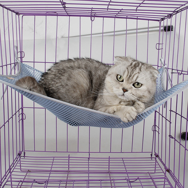 Summer Breathable Cat Hammock Pet Swing Furniture Pet Cat Bed Comfortable Cat Kennel Hanging Bed Pet Cage Cushion Supplies