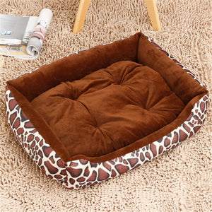 Pet Mats Dog Bed Cat Bed Soft for dogs Pad Cushion Dog House Furniture Puppy Blanket Pet Bed Removable Pillow Small Medium Dogs