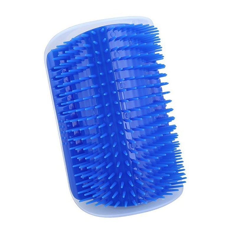 Cat Grooming Accessary Catnip Angle Face Tickling Massage Brush Comb Cat Scratch Board Scratcher Pet Supplies Friction