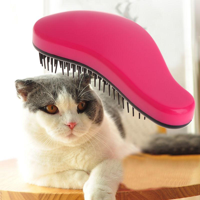 Pet Grooming Comb Shedding Hair Removal Tool Brush Massage Dog Cat Puppy Supply