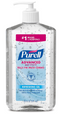 12-Pack PURELL 70% Ethyl Alcohol Sanitizer Refreshing Gel, Clean Scent, 20 fl oz Pump Bottles