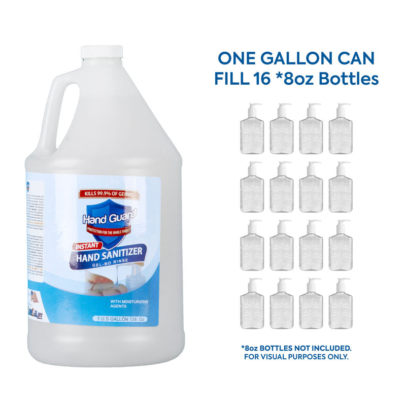70% Isopropyl HandGuard Hand Sanitizer Gel (1 Gallon) 128oz