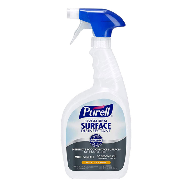 6- Pack PURELL Professional Surface Disinfectant Spray, Fresh Citrus Scent, 32 fl oz  (8.33/bottle)