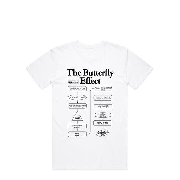 The Butterfly Effect White T-Shirt