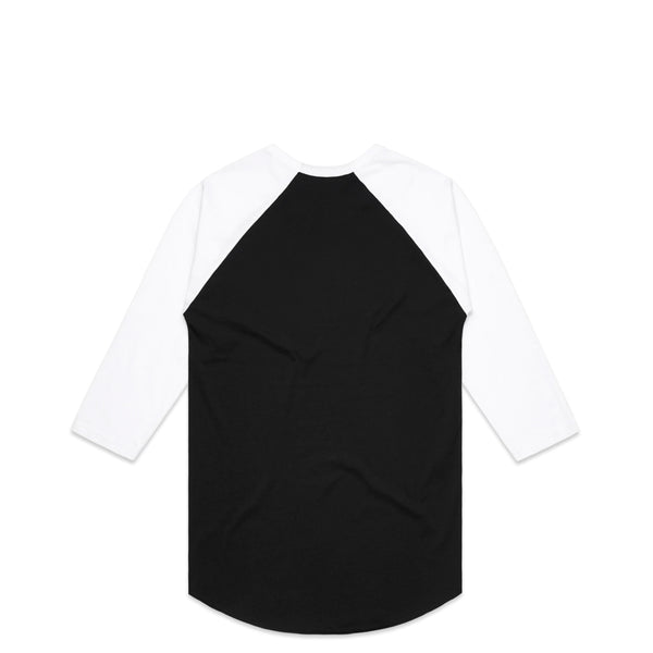 Cortex Black Raglan