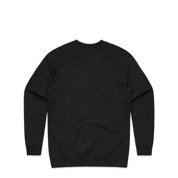 Cortex Black Crewneck