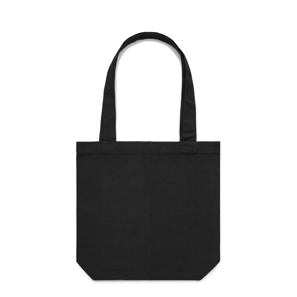 DMN Floral Black Tote Bag