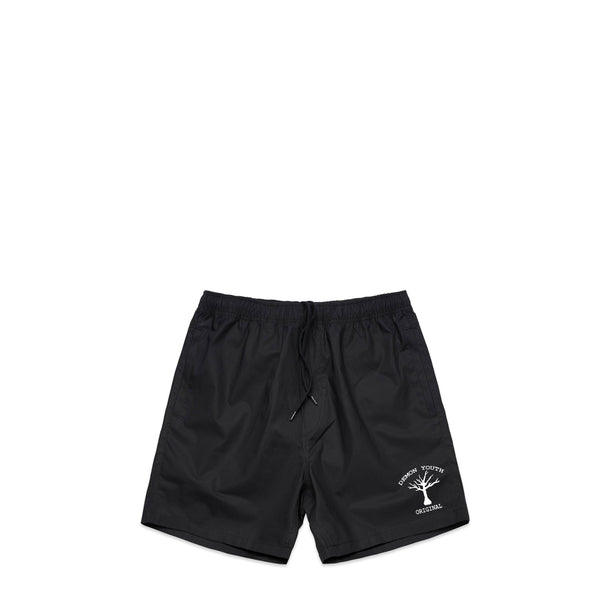 Tree Of Life Black Swim Shorts