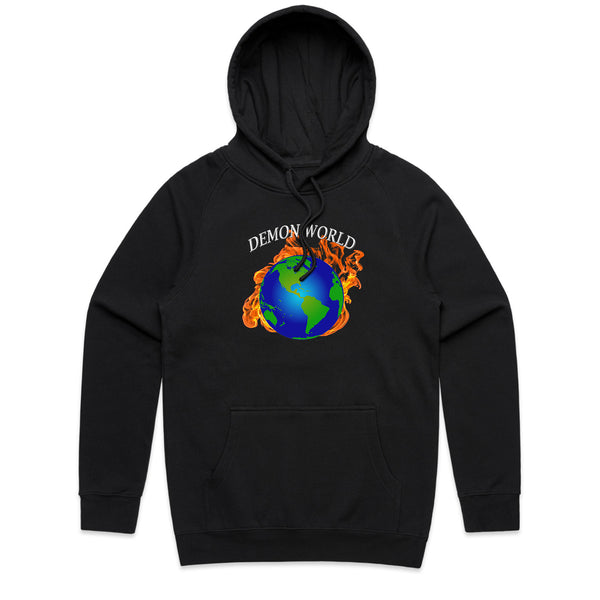 Demon World Black Hoodie