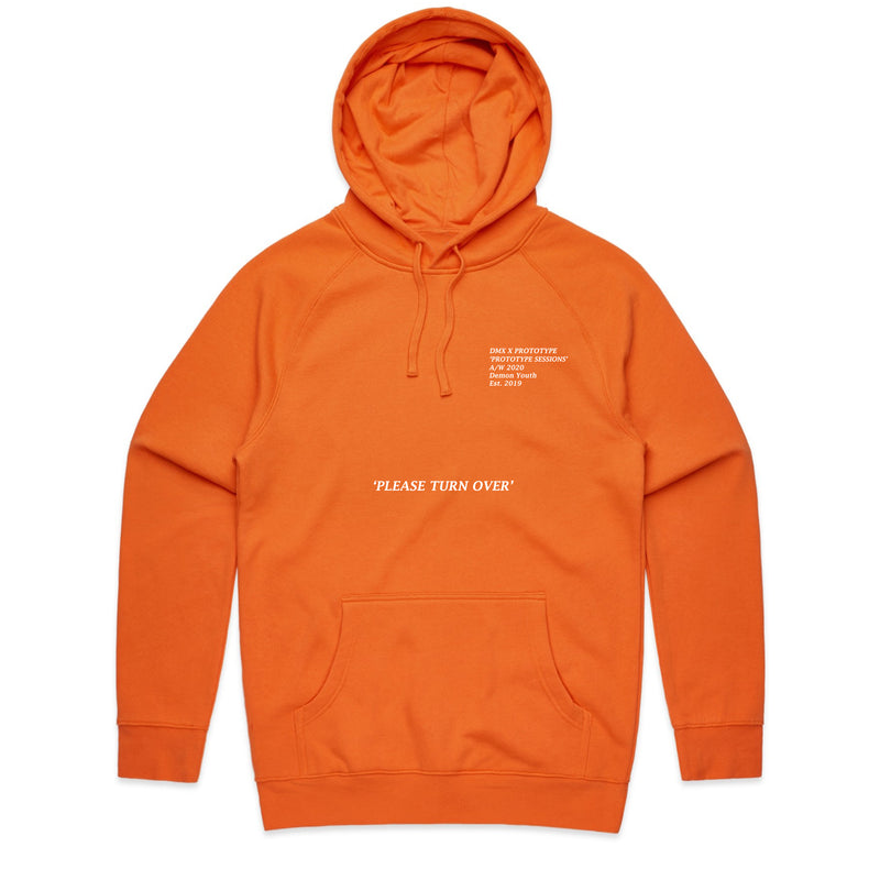 Prototype Sessions Orange Hoodie