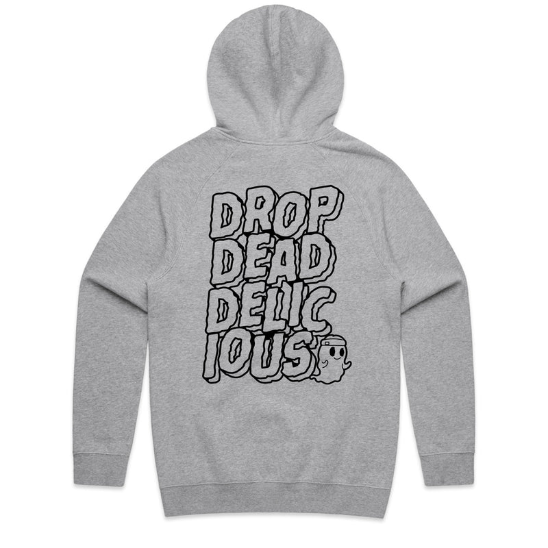 Dropdead Delicious Athletic Heather Hoodie
