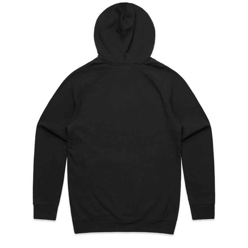 Abstract Logo Black Hoodie