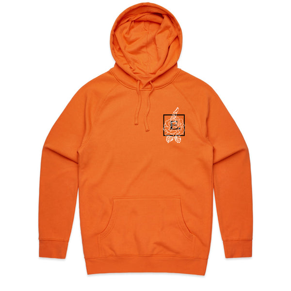 Roses Are Dead Orange Hoodie