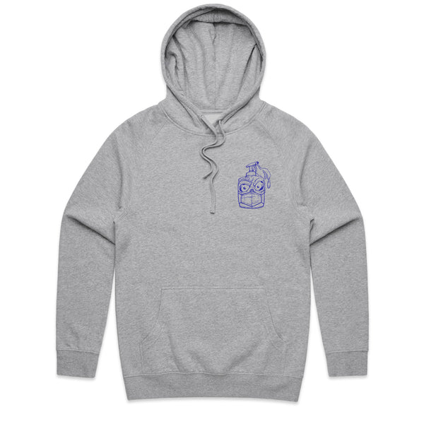 Stay Clean Athletic Heather Hoodie