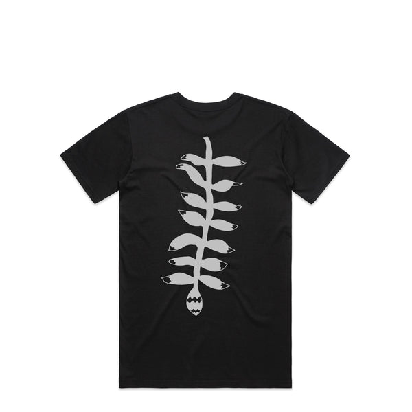 Leaf Black T-Shirt